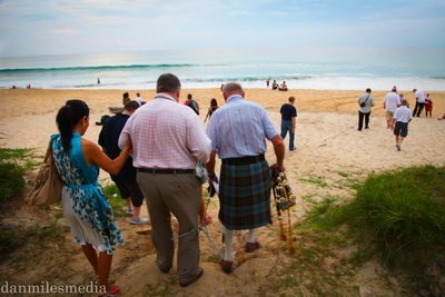 Remembrance Day 2012 Karon Beach Thailand